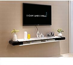 Floating Shelf TV Cabinet Wall Mounted Media Console Floating TV Shelf TV Stand Home Media Entertainment Storage Shelf Gam...