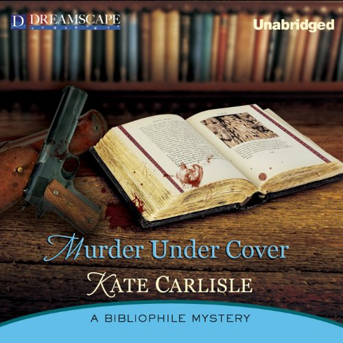 Murder Under Cover audiobook cover art