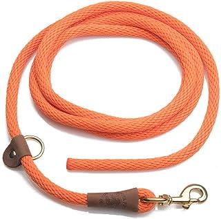 Mendota Pet EZ Trainer Dog Lead/Leash, Orange, 1/2-Inch x 8-Feet