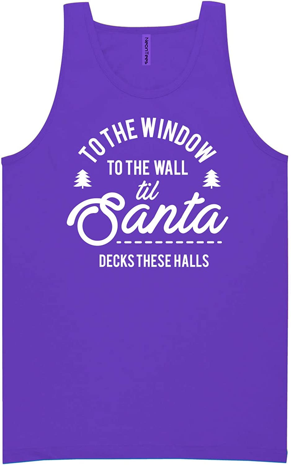 to The Window to The Wall Neon Purple Tank Top - XX-Large