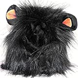 Morninganswer Disfraz de animal para mascotas León Pelucas Melena Pelo Bufanda Fiesta Disfraz de Gatos Fiesta Cosplay Vestido