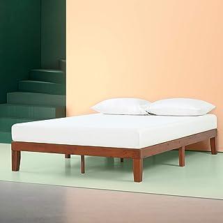 Zinus Wen 12 Inch Wood Platform Bed Frames / No Box Spring Needed / Wood Slat Support /..