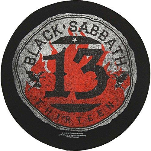 BLACK SABBATH 13 CIRCULAR Backpatch