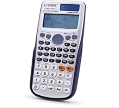 $33 » SSKGZ Office Electronics Basic Calculator Multi View 417 Functions Scientific Calculator Battery LCD Display Office Calcul...