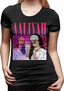 GOOANGUS Aaliyah Comfortable Women's T-Shirt Black