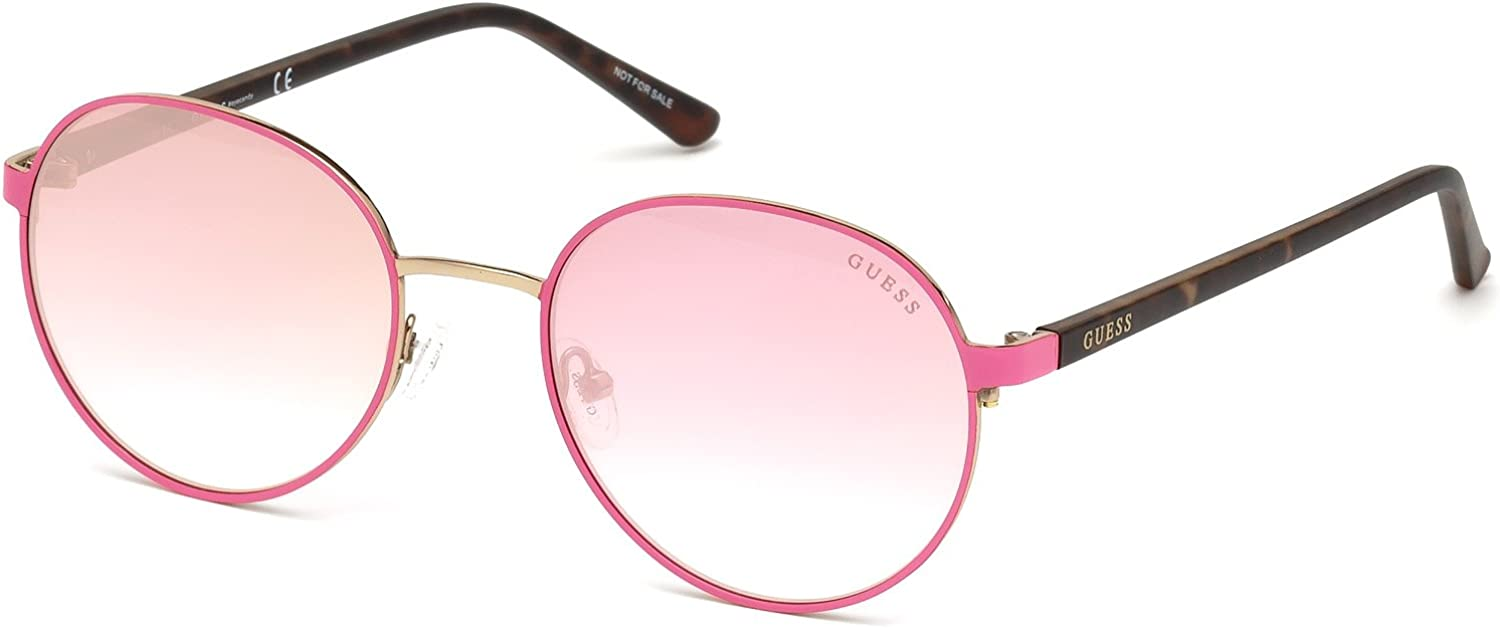 GUESS Women's Gu3027 Round Sunglasses