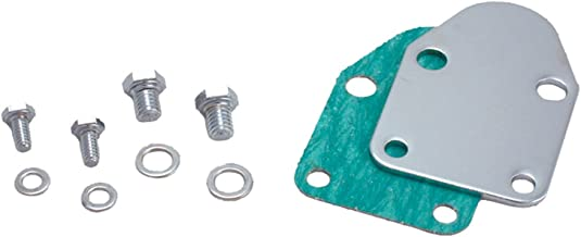 Spectre Performance 42463 Fuel Pump Block-Off Plate with Bolts for Small Block Chevy