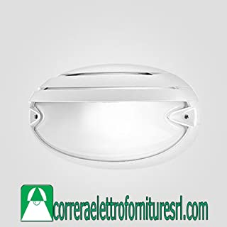 PLAF.CHIP OVALE 25 GRILL BIANCO 005706