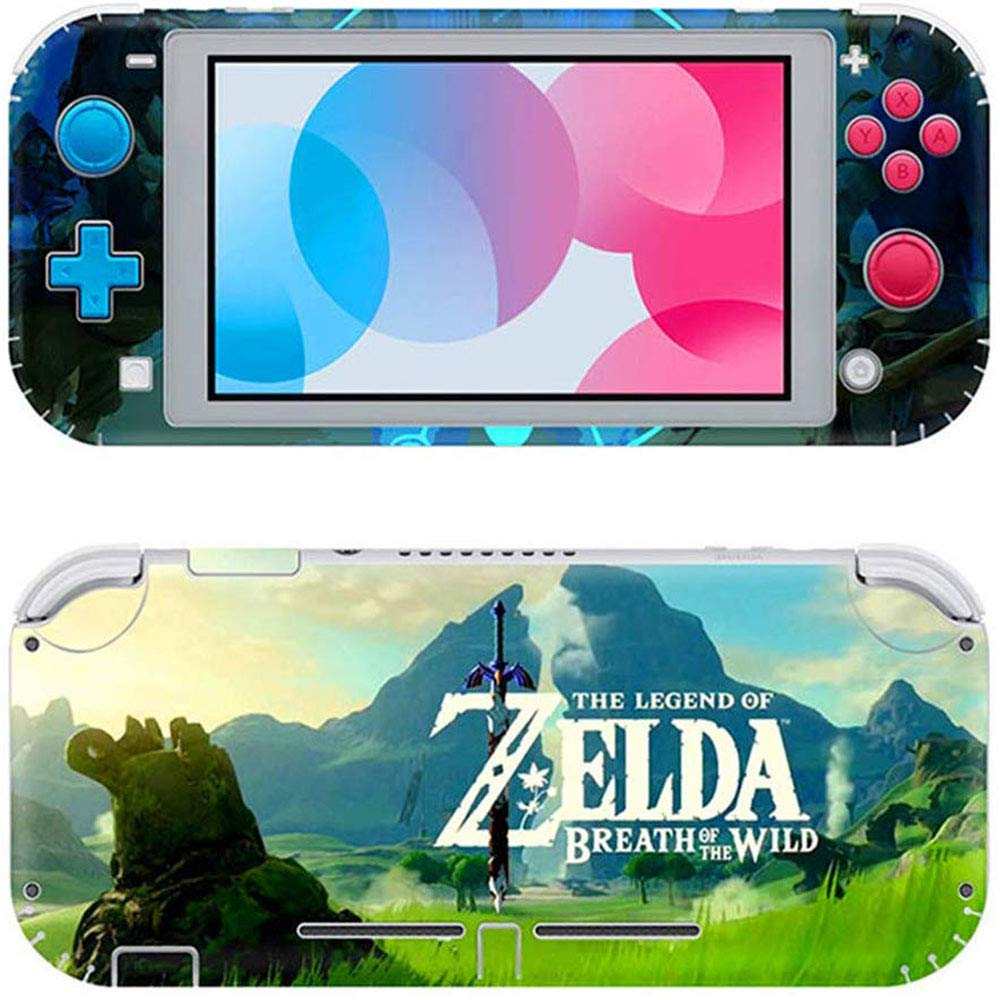 Switch Lite Pegatina, Llustración De Etiqueta De Piel, Adecuada para Película Protectora De Etiqueta De Piel De Switch Lite (La Leyenda de Zelda): Amazon.es: Electrónica