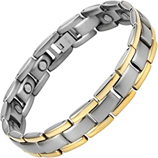 Willis Judd Magnetic Therapy Bracelet for Men Pain Relief for Arthritis Carpal Tunnel