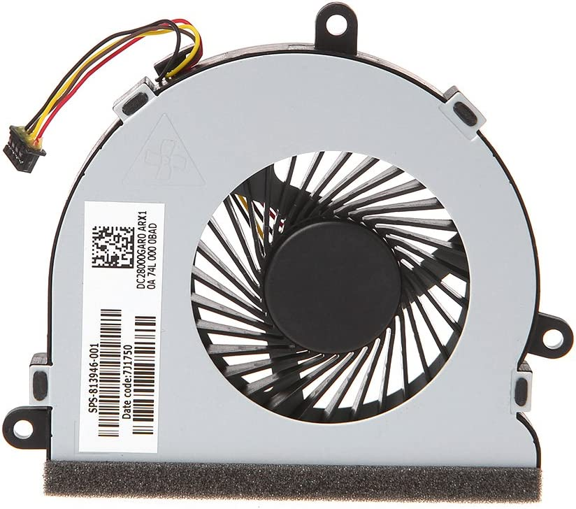 Fresno Mall Jilin Laptop Challenge the lowest price of Japan Cooler CPU Cooling Fan Series HP 15-AC for DC28000G