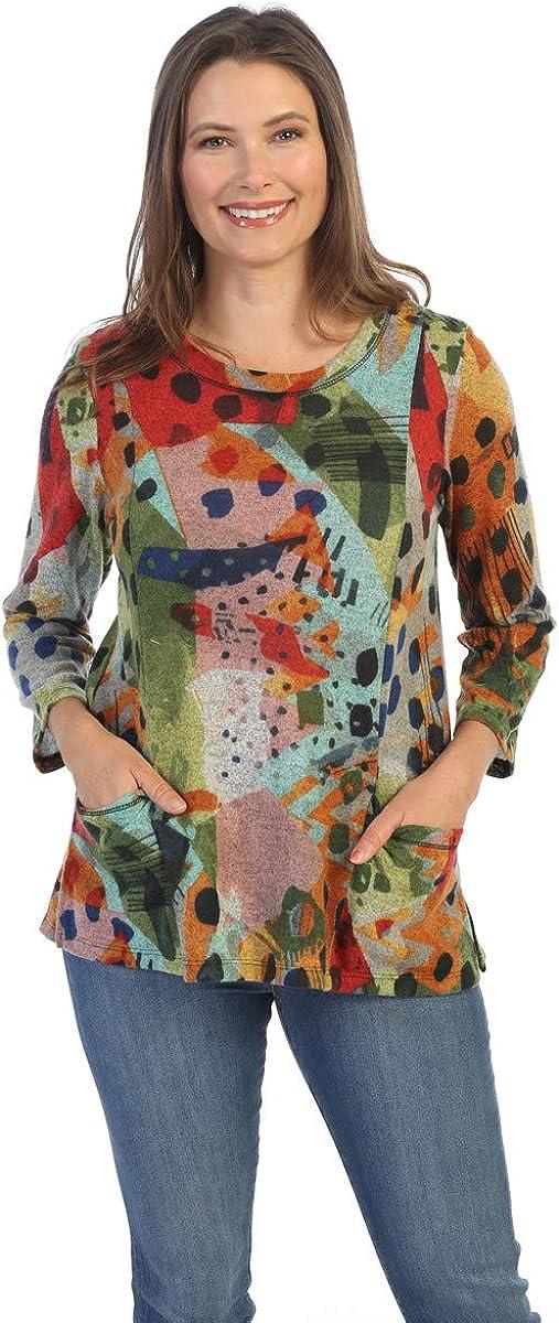 Jess Jane - Pop Art 3 4 Brush Scoop Patch National uniform free shipping Sleeve French gift Neck