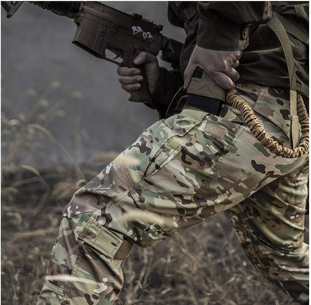 Meaeo Pantalon Tactique D'Instructeur Ix6 Et Camouflage Militaire pour Hommes en Extérieur Cp Camouflage