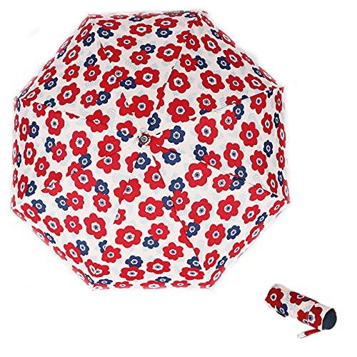 RST REAL STAR Mini 5 paraguas plegable, ligero, 249 g, impermeable, resistente...
