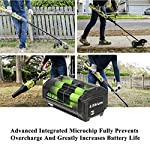 CELL9102 Replacement 6.0Ah 40V Lithium ion Battery for Ryobi Lawn Mower 40v Battery OP4015 OP4050A OP4040 OP4050 OP40201 12 The Cell9102 Advantage : Professional power tool battery manufacturing factory, with dozens of research and development team.And carefully prepared a drill brush for you, so that you can use the battery more efficiently to bring convenience to your life. Ultra-High Capacity : This item compative with ryobi 40v lithium battery weighs just 2.9 pounds but has a capacity of 6,000 mAh and use high-quality lithium-ion cells. Certified Safe : Cell9102's MultiProtect safety system ensures complete protection for you and your devices.And this Battery for ryobi 40v lithium battery is perfectly compatible with OP4050A OP4015 OP4026 OP40201 OP40261 OP4030 OP40301 OP4040 OP40401 OP4050 OP40501 OP40601.