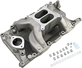 Assault Racing Products PC4000 for Small Block Ford Dual Plane Polished Aluminum Intake 1500-6500 RPM SBF 260 289 302