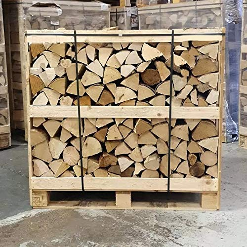 1.2M3 Crate Kiln Dried Fire Wood Hardwood Logs Ready for Burning for Fire Pit, Log Burner, Outdoor Pizza Oven, Chiminea and Fireplace.