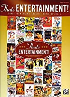 That's Entertainment!: Songs from M-g-m's Greatest Movie Musicals / Easy Piano