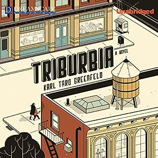Triburbia audiobook cover art