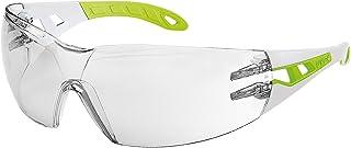Uvex Pheos S Schutzbrille - Supravision Excellence - Transparent/Grau-Lime