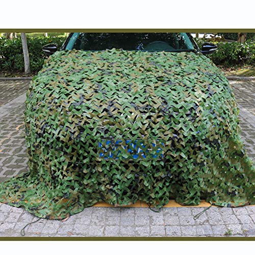QIANGDA Camo Netting, Camouflage Net Army Mesh Nets Lightweight Durable For Sunshade Decoration Hunting Blind Shooting Camping (Size : 2x2.5m)