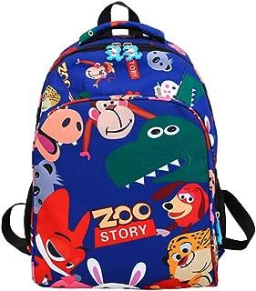Suerico Kids School Backpack Animal School Bookbag 14.5