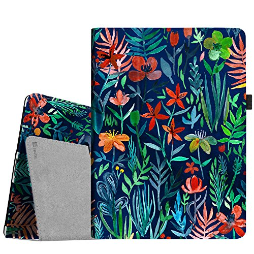FINTIE Folio Case for iPad 2 3 4 (Old Model) - Slim Fit Smart Stand Protective Cover Auto Sleep/Wake for iPad 2, iPad 3rd gen & iPad 4th Generation with Retina Display, Jungle Night