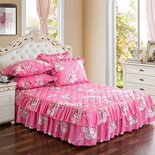 huyiming Gebruikt voor de Koreaanse versie van het bed rok enkele stuk dik bed cover 1.5m1.8m2 m bed matrashoes