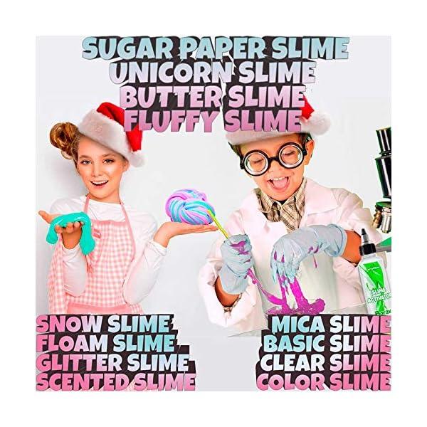 Slime Kit for Girls - All-Inclusive UNICORN Slime Making Kit - PLUS Slime Supplies Kit [57 Pieces Set] - DIY Slime Kit… 5