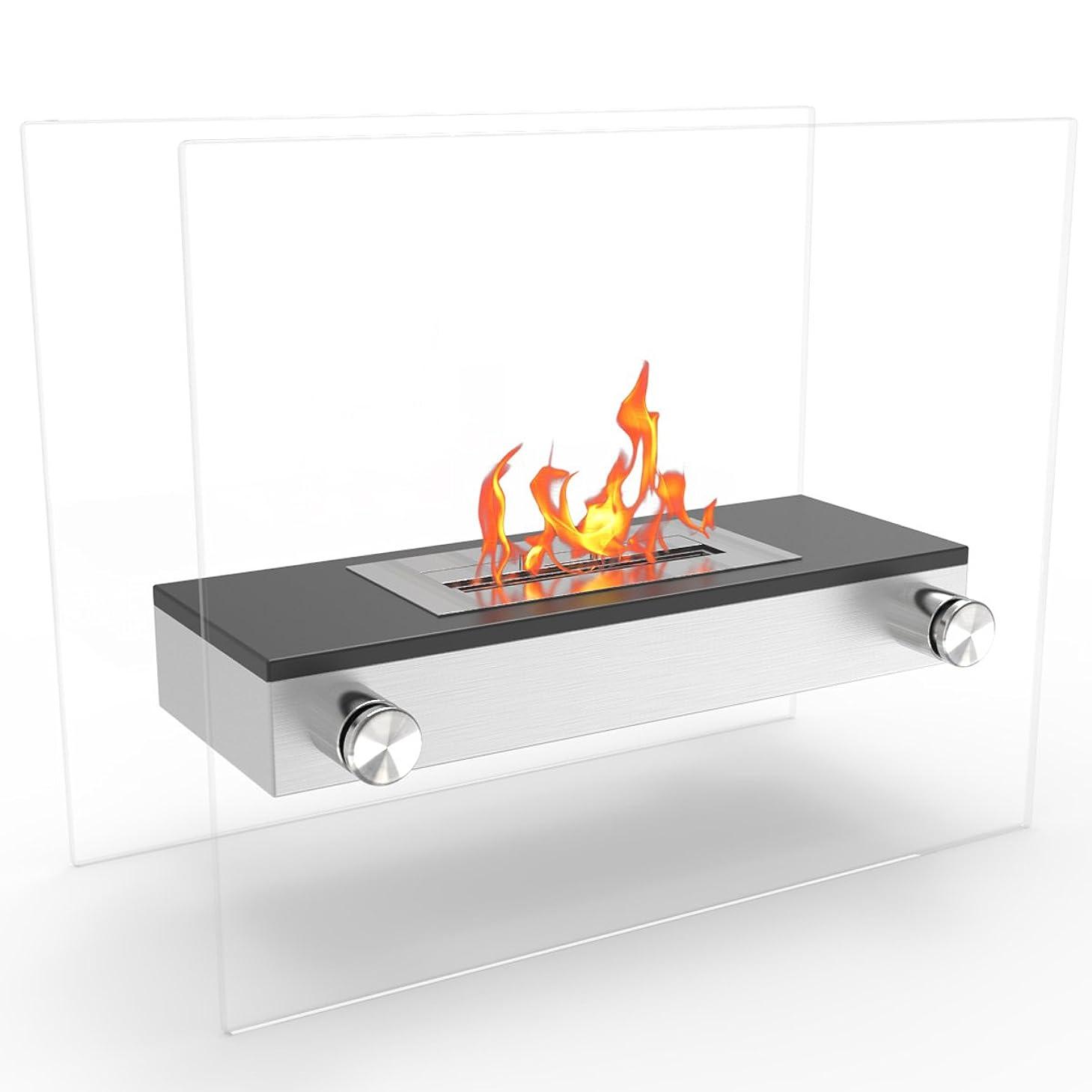 証明する溶接追い越すRegal FlameブラックAlor Ventless Free Standing Ethanol暖炉として使用できインドア、アウトドア、ガスログ挿入、Ventフリー、電気、アウトドア暖炉、プロパン、ジェル& Fire Pits。