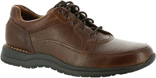 Rockport New Men's Edge Hill II Walking zapatos marrón Leather 10.5