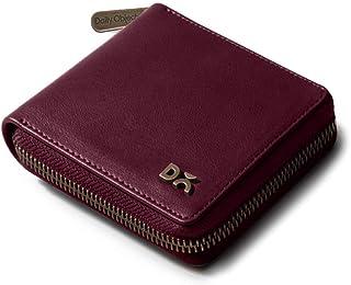 DailyObjects Burgundy Vegan Leather Zip Wallet