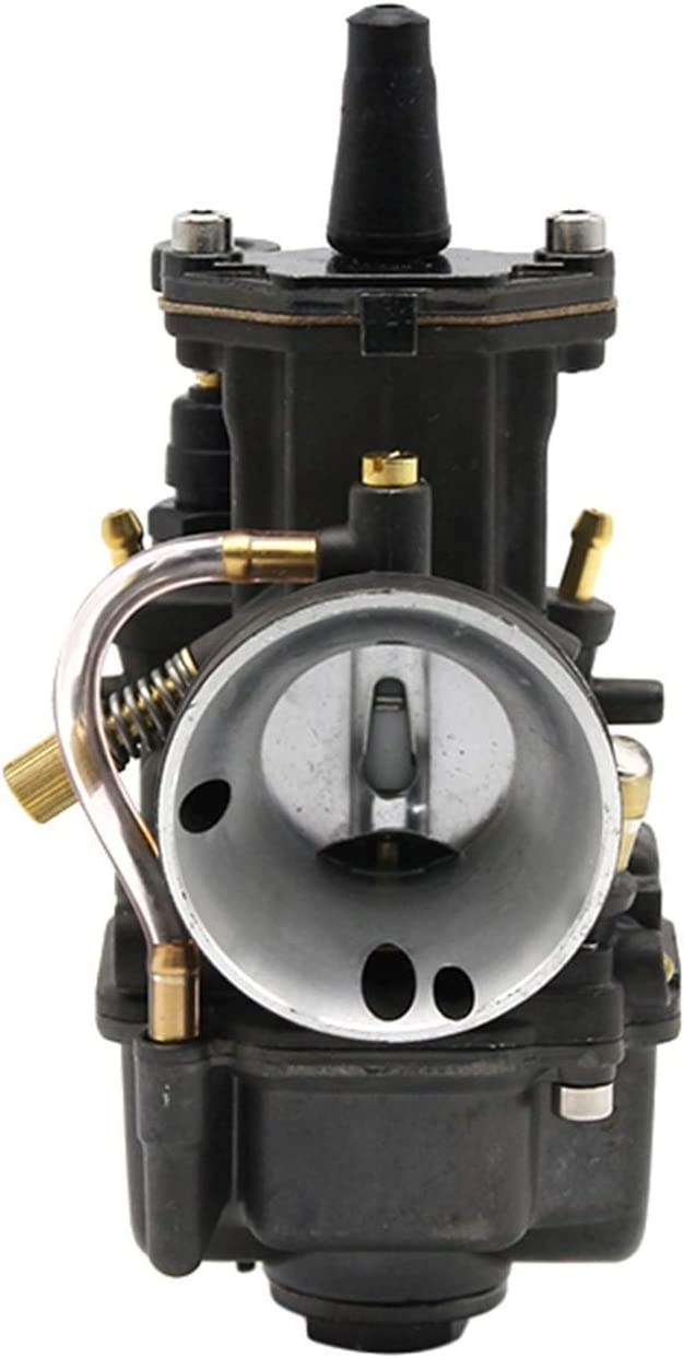 Replacement Tulsa Mall Motorcycle New mail order Racing Fit For - Keihin With Carburetor