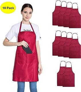 Best red aprons in bulk Reviews