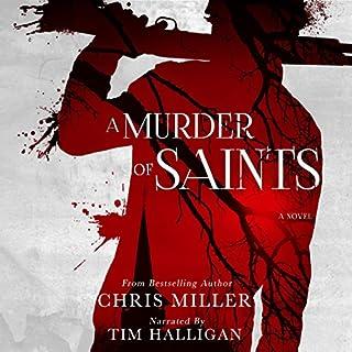 A Murder of Saints audiobook cover art