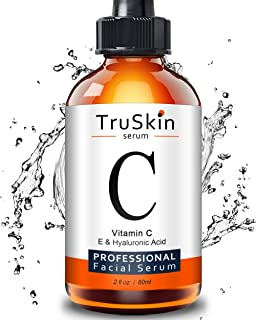 TruSkin Vitamin C Serum for Face [BIG 2-OZ Bottle] Topical Facial Serum with Hyaluronic..