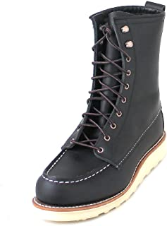 Womens 8 Inch Moc 3424 Leather Boots