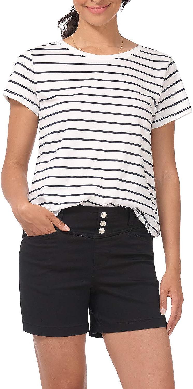shop Rekucci Secret Over item handling ☆ Figure Women's Slimming 5 Short Jean Sn inch with