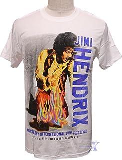 ジミー・ヘンドリックス公式メンズTシャツ(ホワイト)