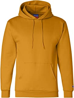 Men's Front Pocket Pullover Hoodie Sweatshirt, X-Large, C-gold