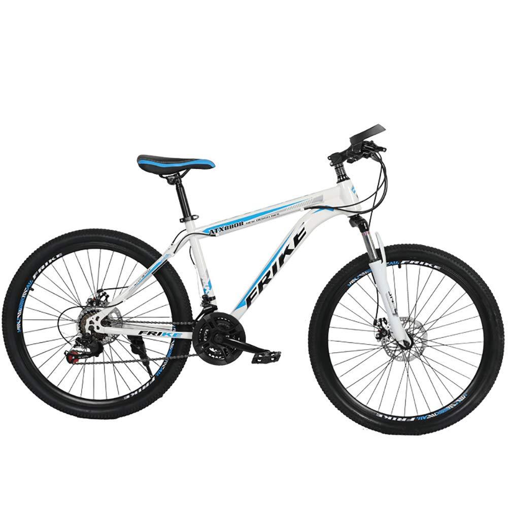 Bicicleta de Montaña,30V, Unisex Adulto, Doble Freno Disco,D ...