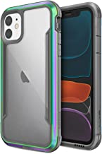 X-Doria Raptic Shield, iPhone 11 Pro Max Case (Formerly Defense Shield) - Military Grade Drop Tested, Anodized Aluminum, TPU, and Polycarbonate Protective Case for Apple iPhone 11 Pro Max, Iridescent