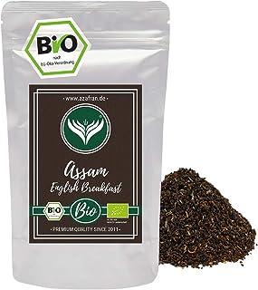 Azafran BIO Assam Schwarzer Tee - English Breakfast Tea - Ostfriesentee 250g