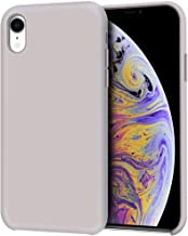 Anuck iPhone XR Case, Anti-slip Liquid Silicone Gel Rubber Bumper Case with Soft Microfiber Lining Cushion Slim Hard Shell...