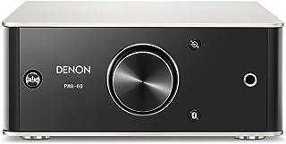 Denon PMA-60 2.0canales Hogar Inalámbrico y alámbrico Negro, Plata - Amplificador de Audio (2.0 Canales, 50 W, 0,004%, 110...