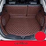 Uspick For Renault Koleos Todas Modelos de fluencia Captur Kadjar Laguna Personalizados Accesorios de automóvil Maletero del Coche de Estilo Estera del Coche (Color : Coffee)