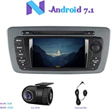 Android 7.1 Car Stereo, Hi-azul 2 Din RAM 2G Car Radio In Dash 7