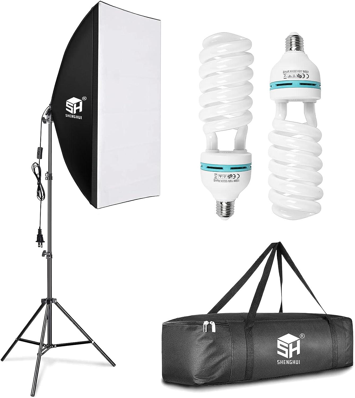 SH 1500w Softbox OFFicial shop Photography Lighting 20 Studio Video Lights Trust Kit