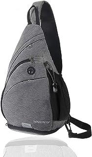 Waterfly Sling Backpack Sling Bag Crossbody Daypack Casual Backpack Chest Bag Rucksack