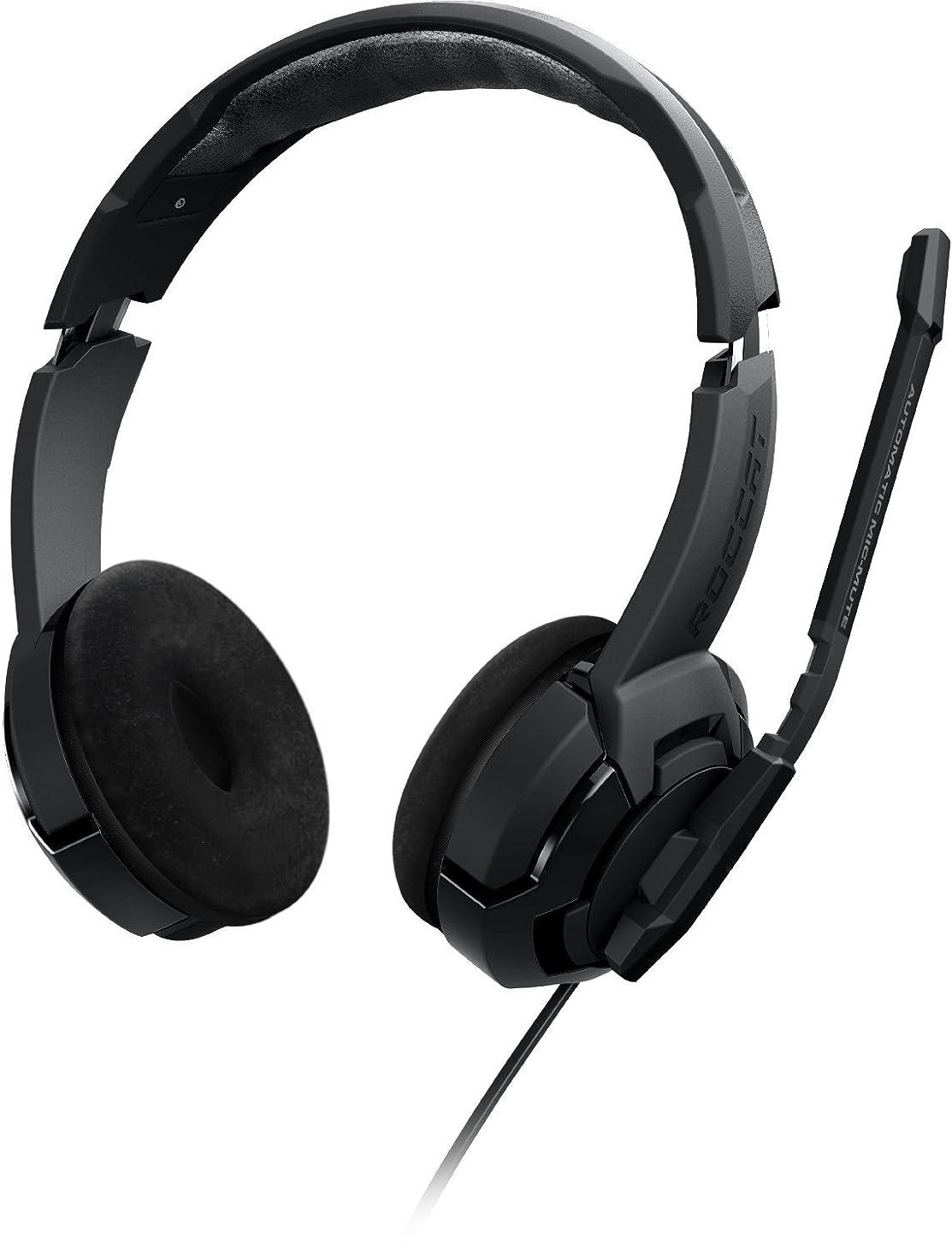 してはいけない活気づける早いROCCAT KULO Stereo Gaming Headset, Black [並行輸入品]